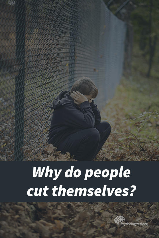Why do people cut themselves?