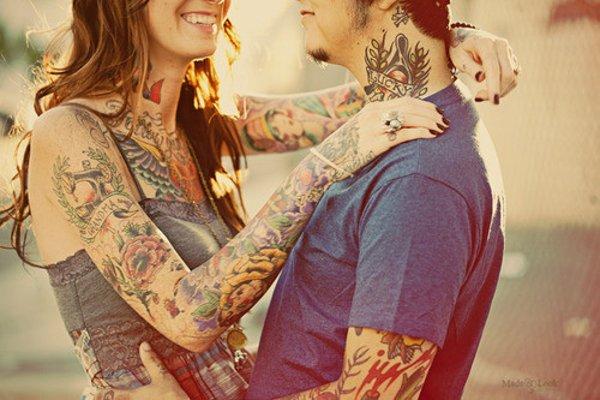 tattooedcouple